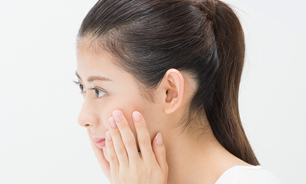 [写真]お顔のパーツ診断イメージ